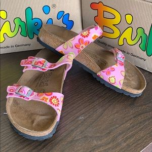 BIRKENSTOCK ORIGINAL BIRKI'S Tahiti meadow rose